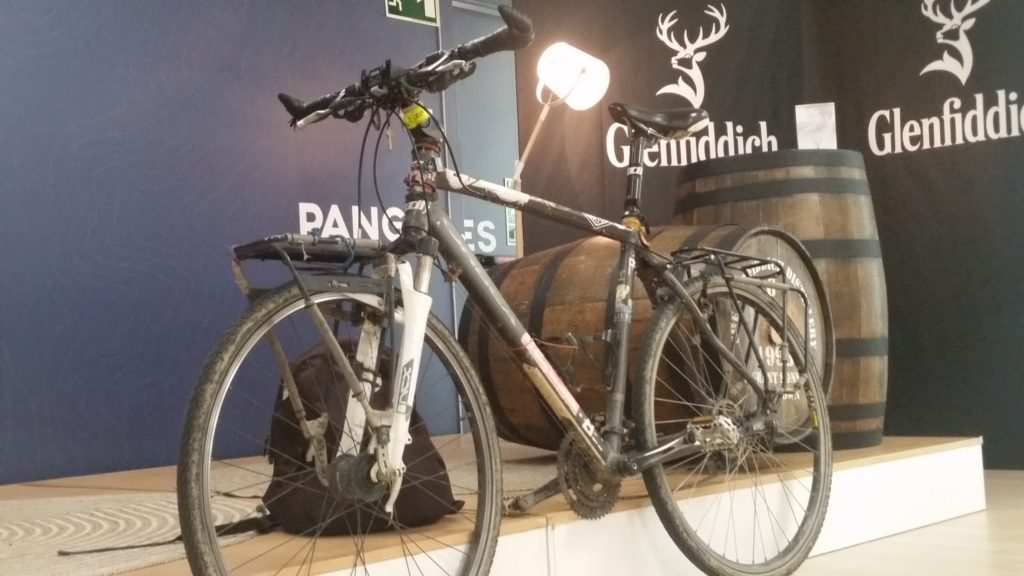 Bici de Javier Colrado