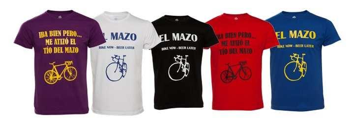 Gama de camisetas El Mazo