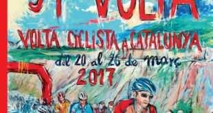 Cartel Volta a Catalunya 2017