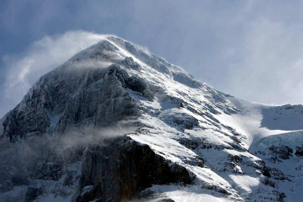 Imagen de la pared de la cara norte del Eiger