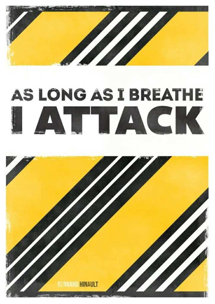 As long as I breathe I attack