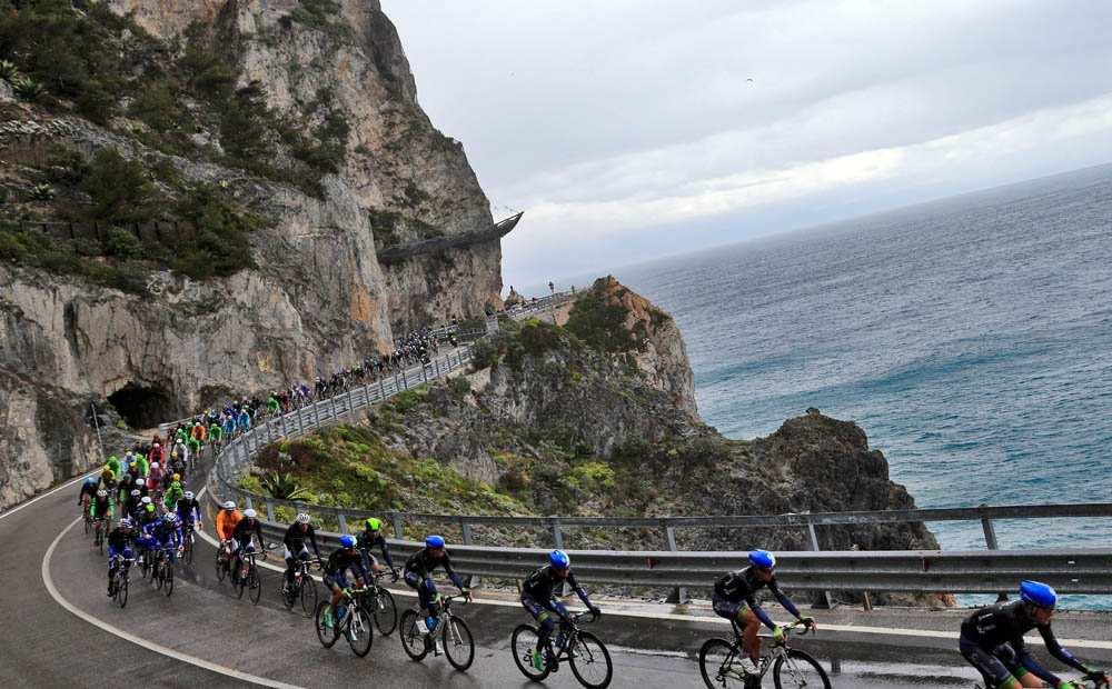 Imagen de la Milan-San Remo de 2014