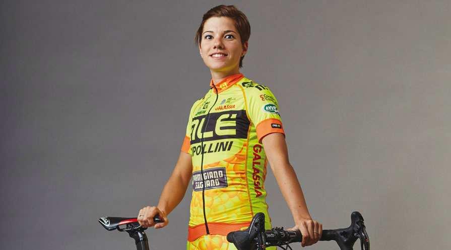 Imagen de la joven ciclista Ane Santesteban
