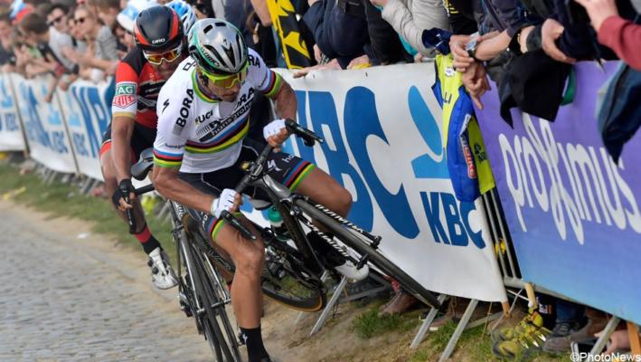 caída Sagan Flandes 2017