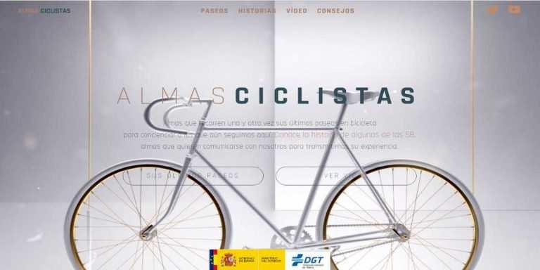 """Imagen de la campaña """"Almas Ciclistas"""""""