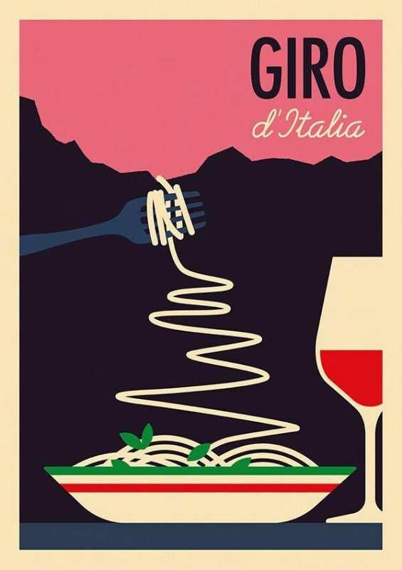 Stelvio Spaghetti Giro Italia