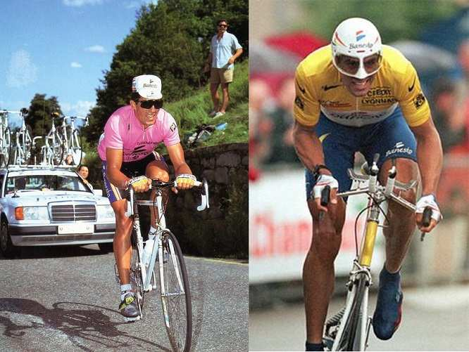 Indurain Giro y Tour