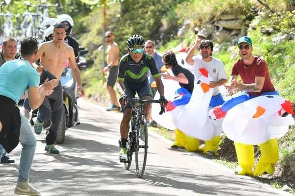 Nairo Quintana crono Giro 2017