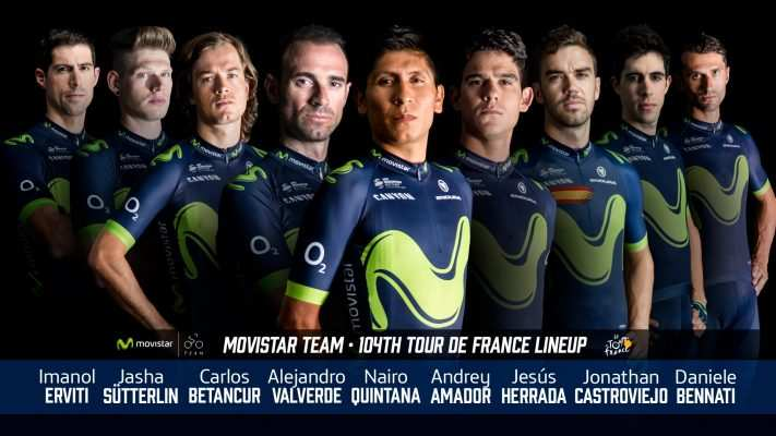 Movistar Team en el Tour 2017