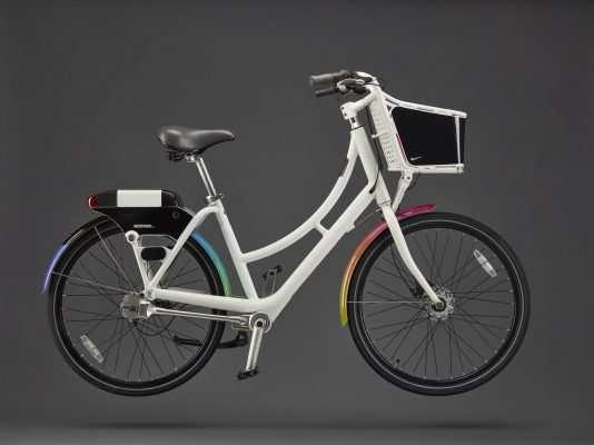 Bicicleta Nike para celebrar el mes del Orgullo y LGTG