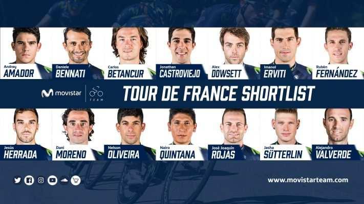 equipo movistar tour 2017