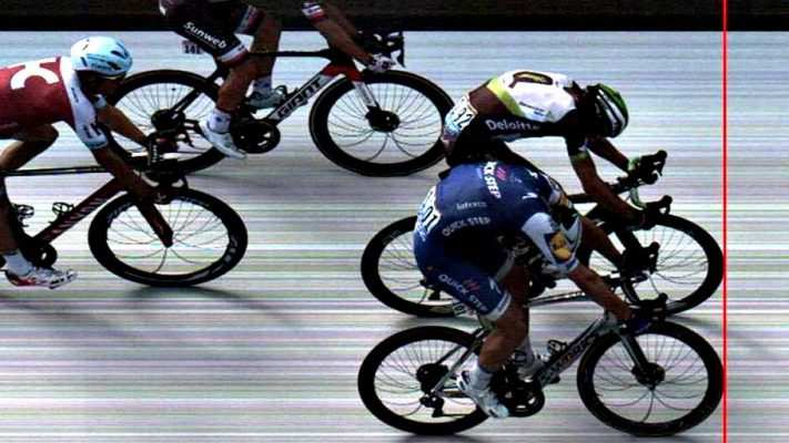 Foto finish tour de francia