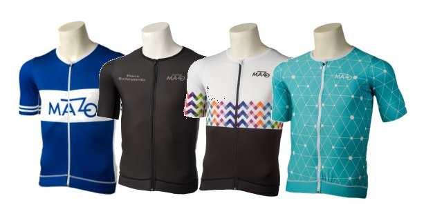 Gama de maillots Pro Tour de El Mazo