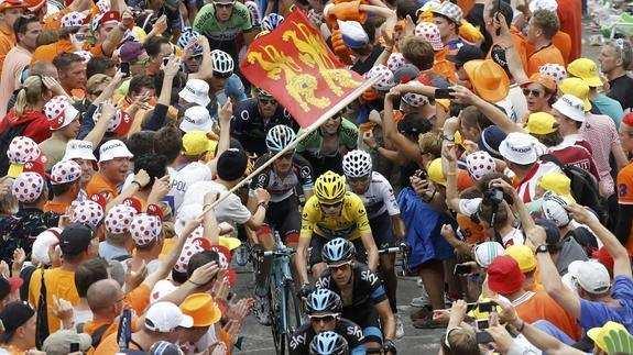 Gentío Tour de Francia