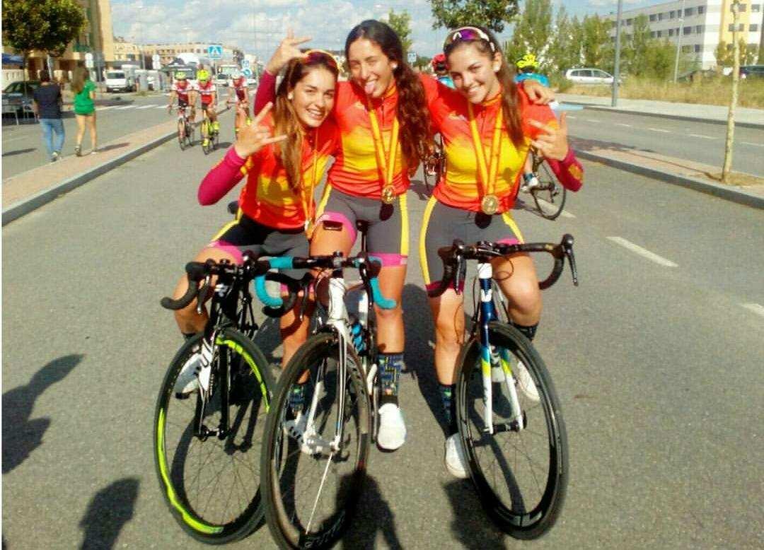 Campeonas España Ciclismo