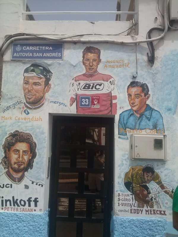 pinturas ciclistas