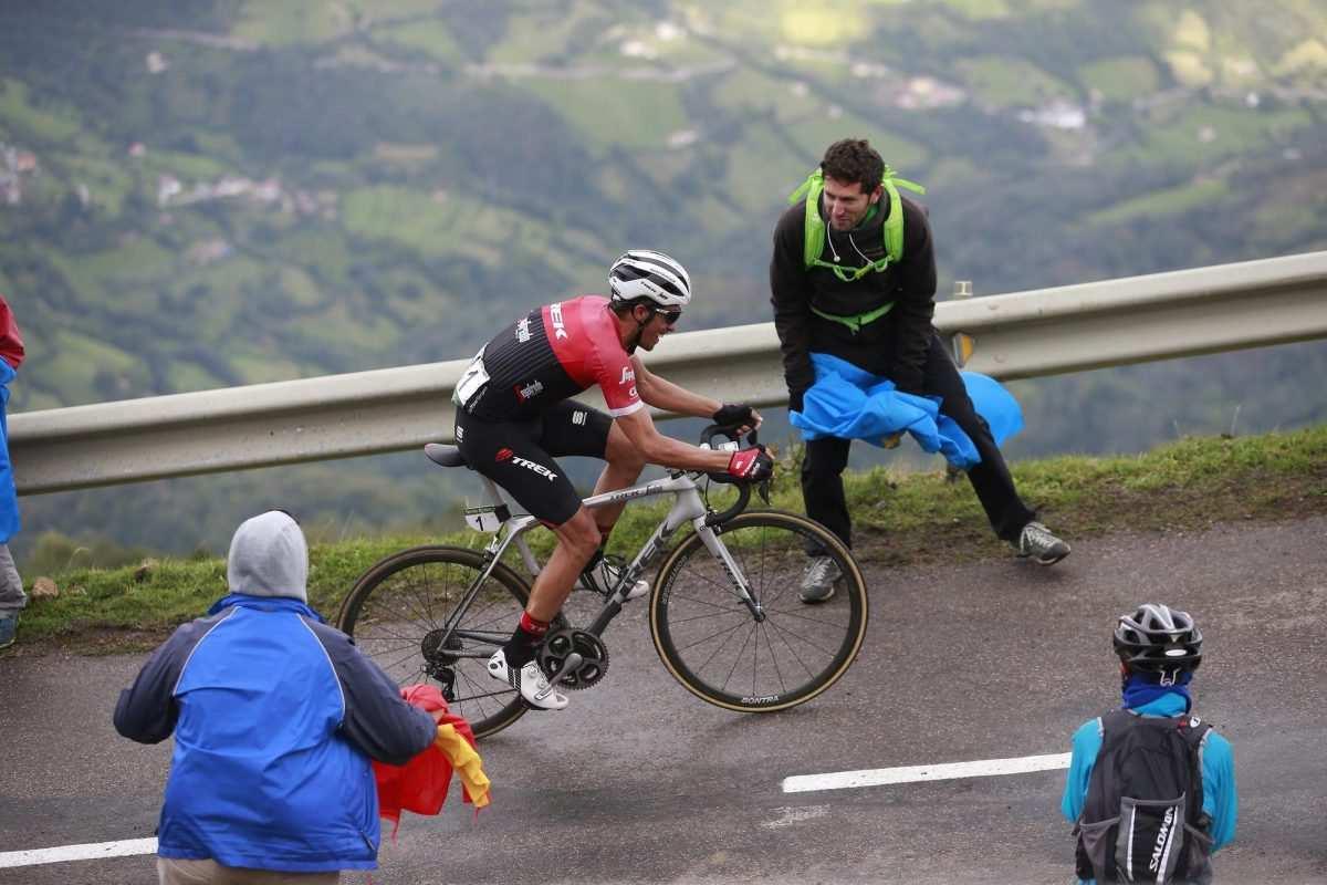 Ataques Contador Vuelta