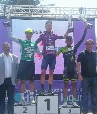 Sor, Marengo y Trujillo_ podium de la general Vuelta a Tenerife