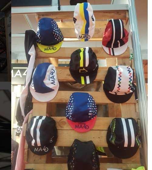 Gorras de ciclismo El Mazo en UnibikeGorras de ciclismo El Mazo en Unibike