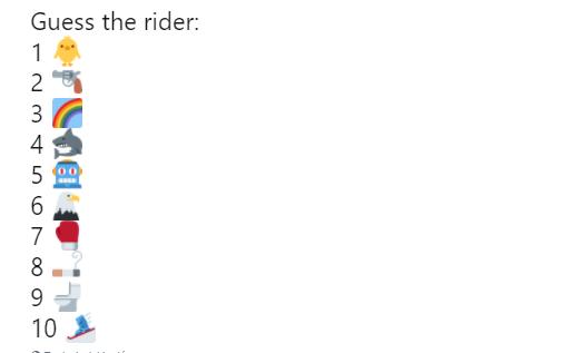 juego ciclistas emoticonos whatsapp