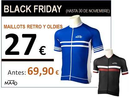 black friday ciclista