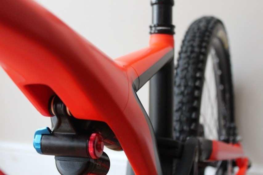 Vinilos invisibles para proteger el cuadro de la bicicleta