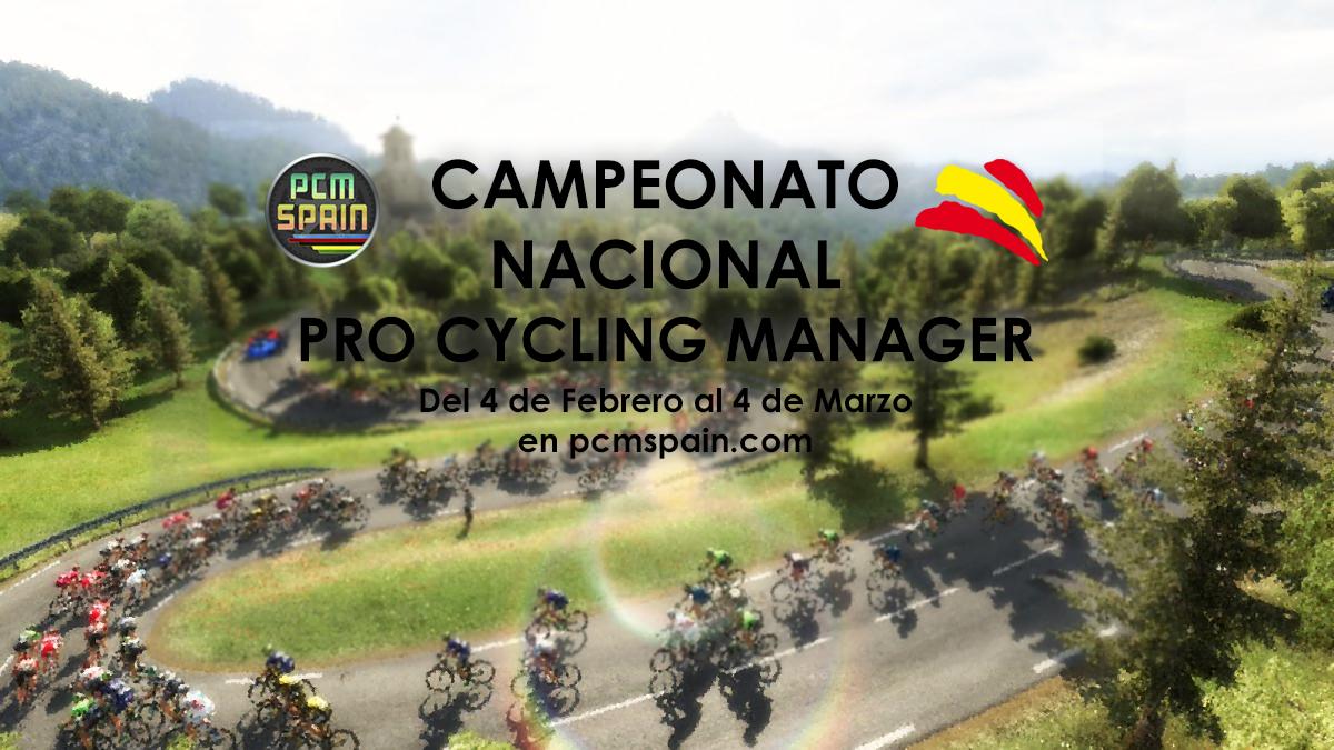 campeonato españa pro cycling manager