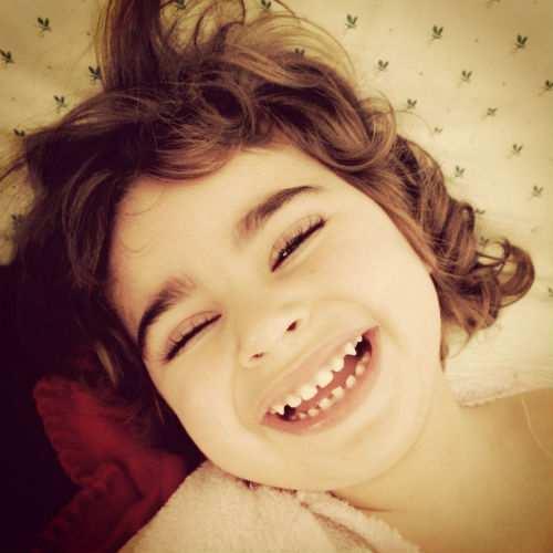 Lucía con la sonrisa más bonita del mundo