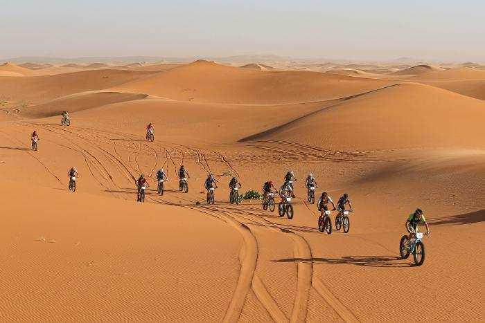 Las bicicletas en el desierto, la Titan Desert