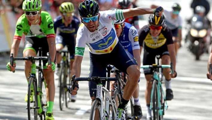 Valverde en la Volta a Cataluña