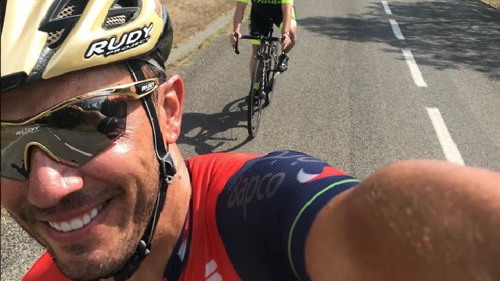 Purito Rodríguez en una foto colgada en sus redes