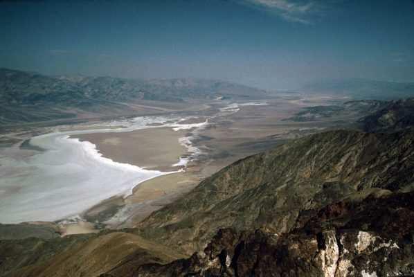 Vistas del Valle de la Muerte desde el Dante's View