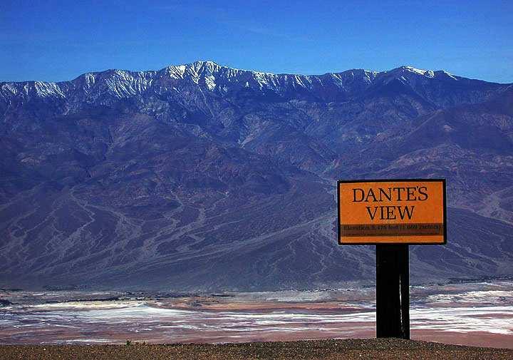 Dante's View: ¿El puerto o el infierno con vistas al Valle de la Muerte?