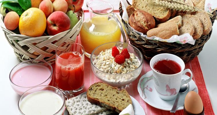 Ejemplo de un buen desayuno para el ciclista