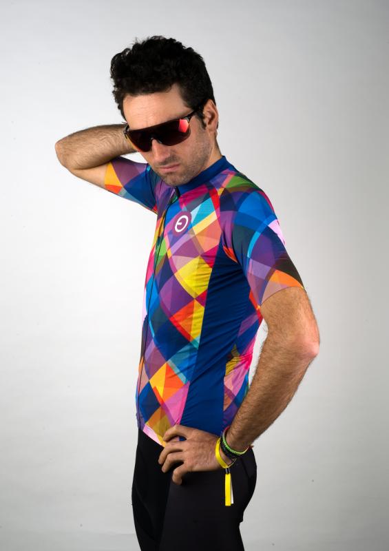 maillot ciclismo rainbow