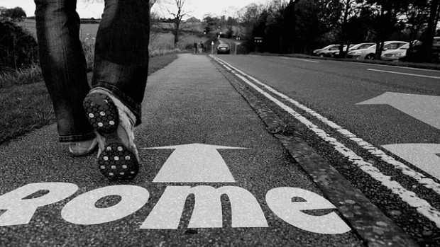 Todos caminos conducen Roma