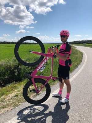 maillot fucsia ciclismo