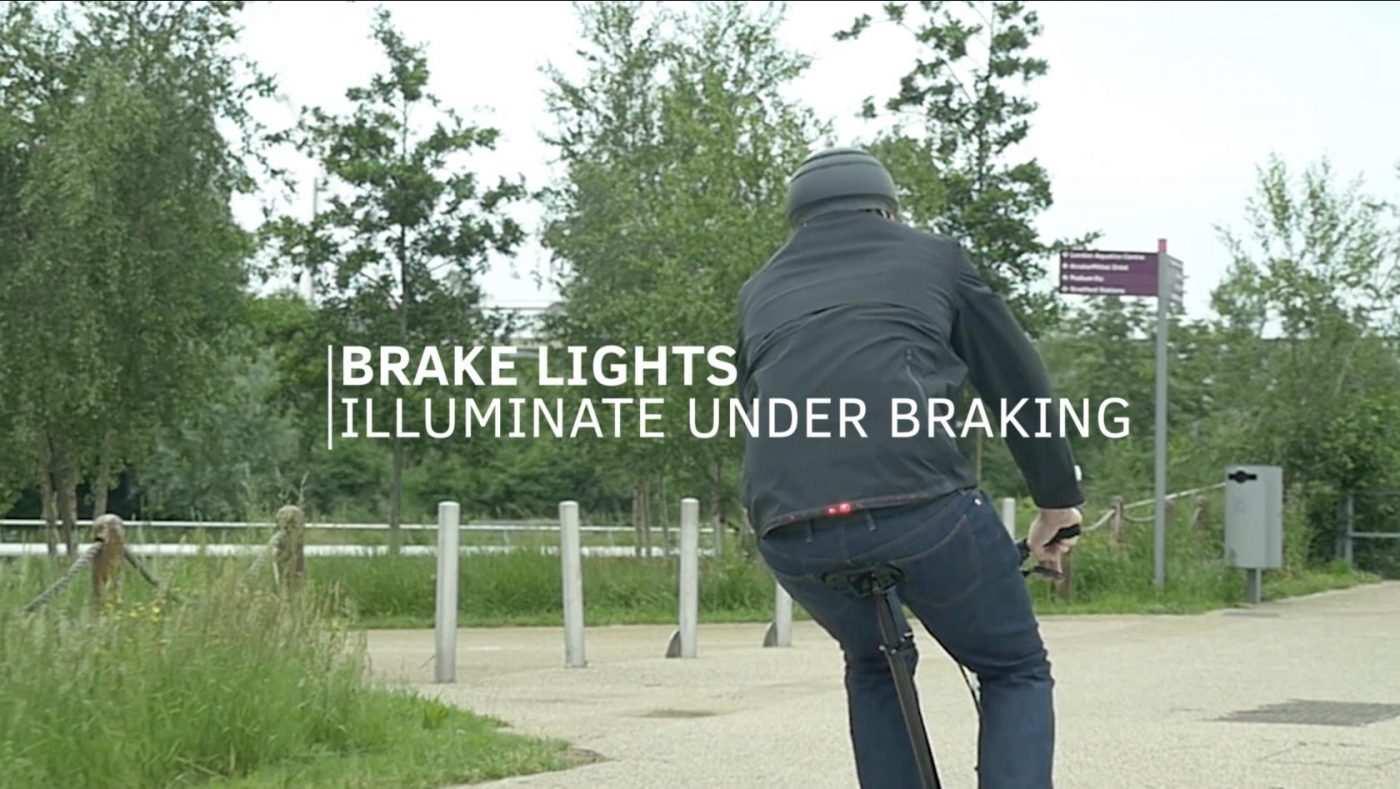 luces de frenada chaqueta
