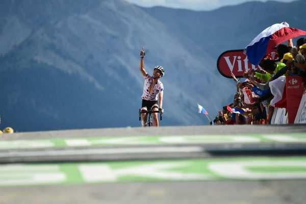 ciclistas Tour 2018