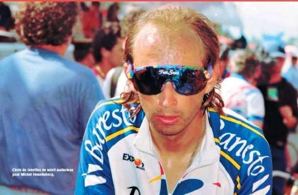 Armand de las Cuevas con el maillot de Banesto