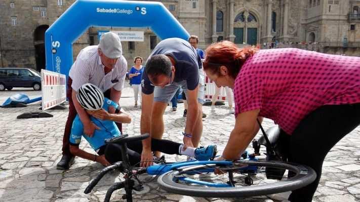 Record camino santiago en bici