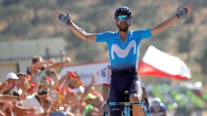 Alejandro Valverde la gran baza española para el mundial y uno de los grandes favoritos