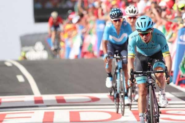 Colombianos Vuelta España