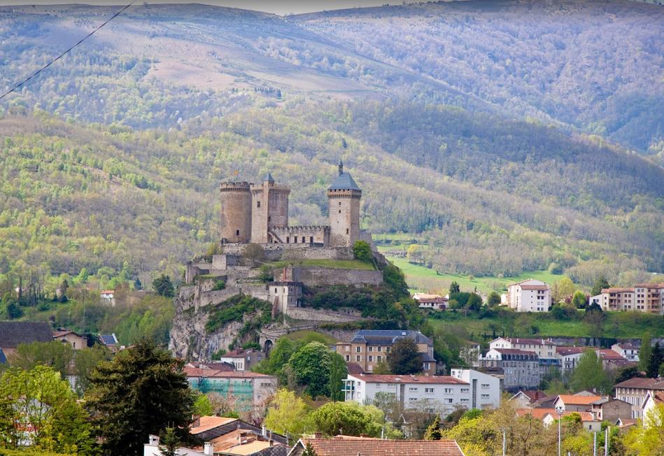 Castillo cátaro Foix