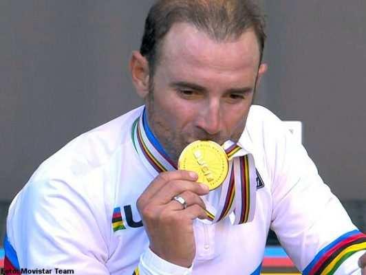 ¡A Valverde le queda muy bien eso del Oro!