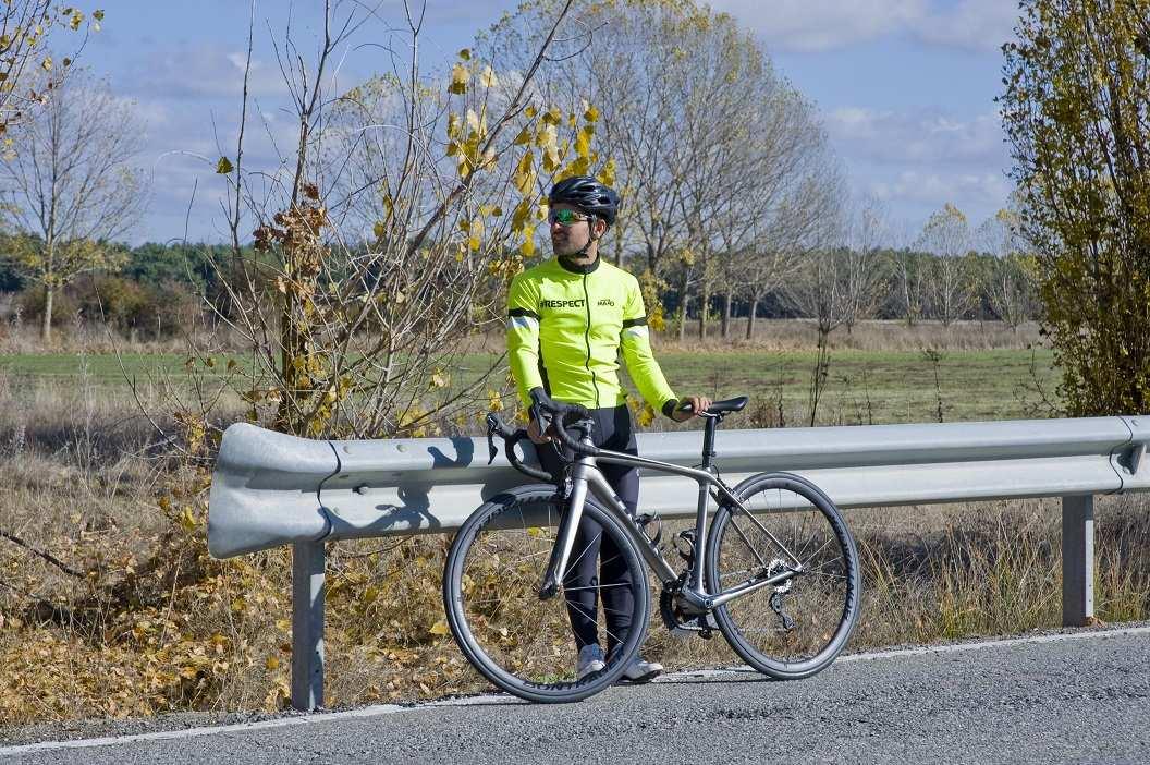 Ropa invierno ciclismo fluor