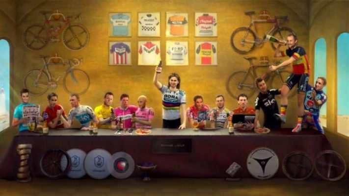 ultima cena ciclistas