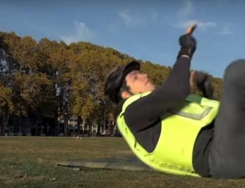 Presentan un nuevo airbag para ciclistas que se infla en menos de una décima de segundo