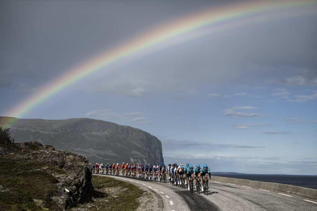 arco iris ciclismo