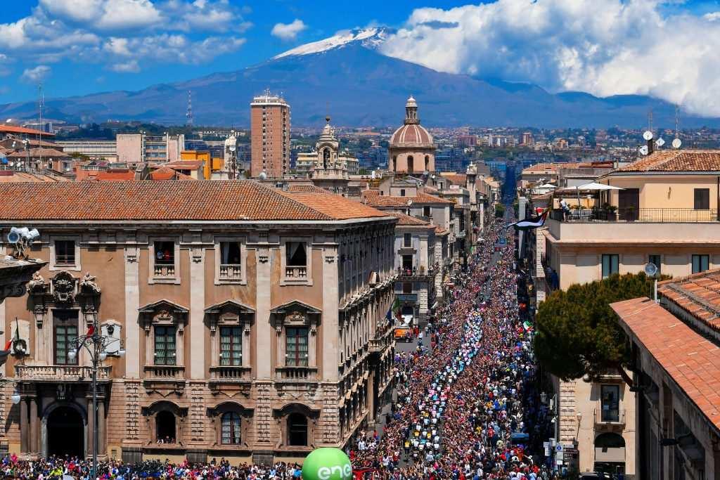 Giro 2018 Etna Catania